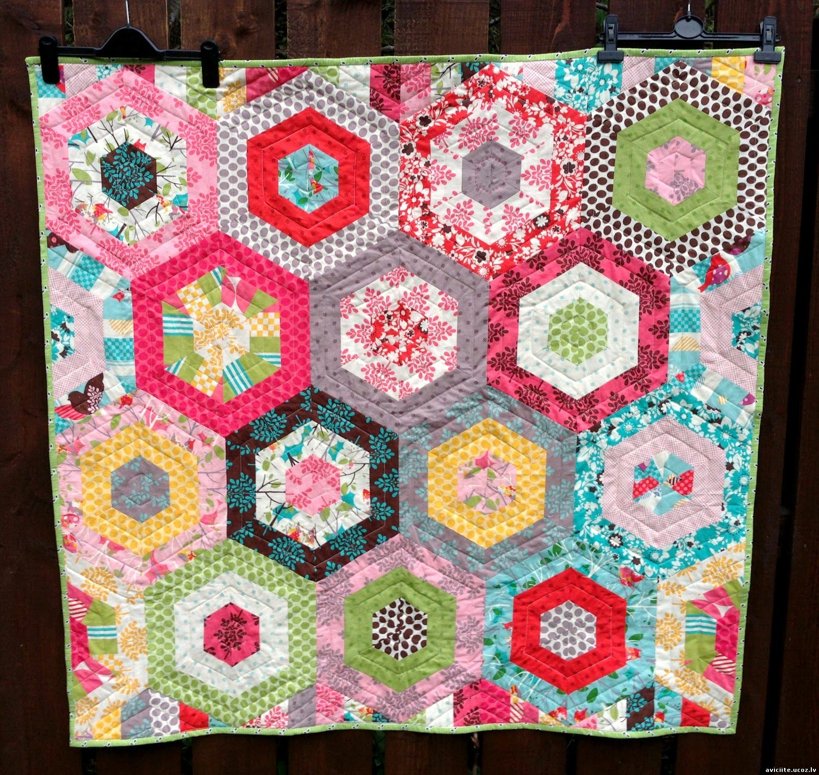 A Hexagon Quilt
